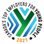 Making a place for Canadians starting their careers: 'Canada's Top Employers for Young People' for 2021 are announced