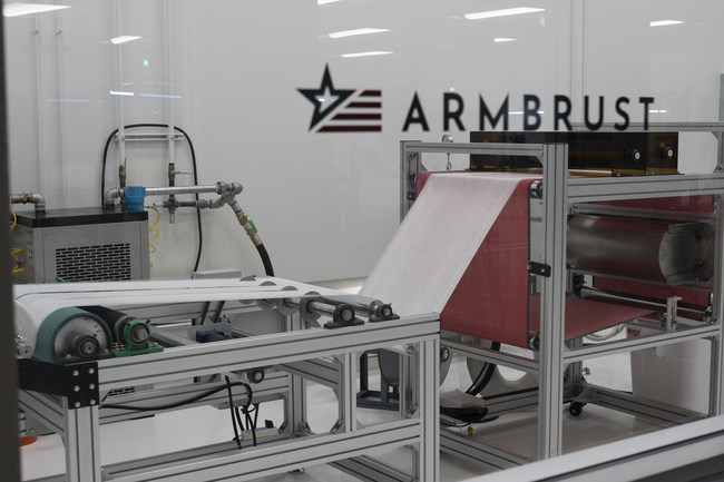 Armbrust American's Texas-based medical mask facility & meltblown machine.
