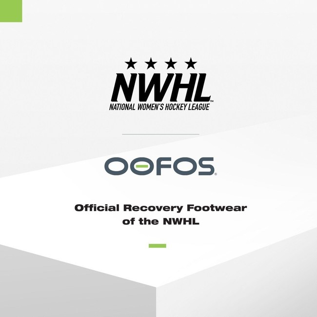 OOFOS announces it is now the the Official Recovery Footwear of the NWHL