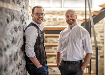 Maxime Gagné et Alain Thibodeau (Groupe CNW/ACT Architecture Design)