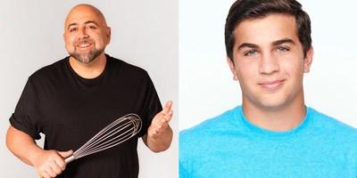Food Network Host Duff Goldman and TikTok Baker Matthew Merril Host the OREO® x Funfetti® Baking Contest.