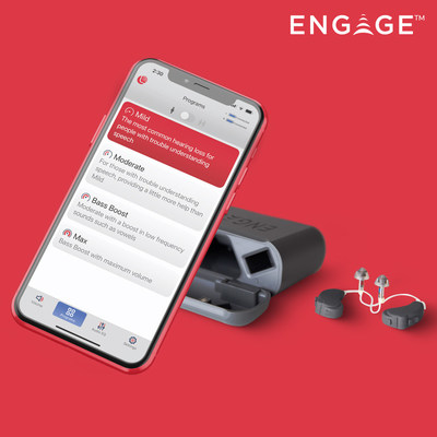 Stream calls, music, and media from your smartphone! No need to swap Engage Enlite for earphones. Control programs, volume, and more with our simple app.