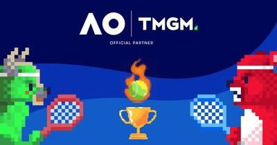 TMGM, Parceira Oficial do Australian Open, lança jogo de tênis estilo retrô com bônus para trading para jogadores com a melhor pontuação.