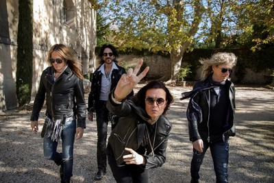 Rock Band The Dead Daisies release their fifth studio album 'Holy Ground' (from left to right) - Doug Aldrich (Whitesnake, Dio), Deen Castronovo (Journey, Bad English and Hardline), Glenn Hughes (Deep Purple, Black Country Communion) and David Lowy (Mink and Red Phoenix).