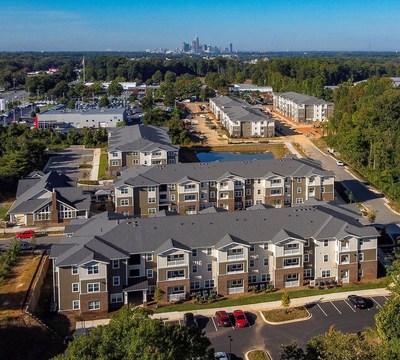 Platform Lofts, a 198-unit affordable community in Charlotte, NC.