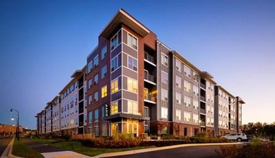 Axiom, a 272-unit market rate community in Clarksburg, MD.