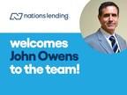 Nations Lending Announces John Owens as Vice President of Strategic Growth