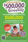 """Natural Grocers™ Announces The """"$500,000 good4u Giveaway"""" In March 2021'S good4u Health Hotline® Magazine"""