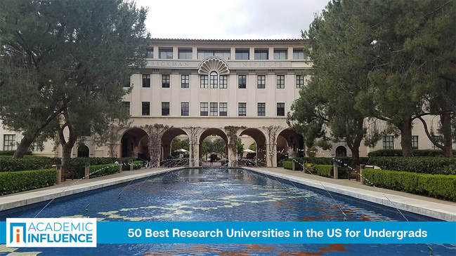 Some schools also excel at research at the undergrad level. AcademicInfluence.com ranks the 50 best undergraduate colleges & universities for students who want to conduct research
