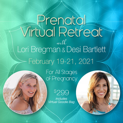 Celebrity Yoga Instructor Desi Bartlett and Best Selling Author and Doula Lori Bregman Team Up to Support Pregnant Mamas During COVID-19 with Their First-Ever Virtual Prenatal Retreat