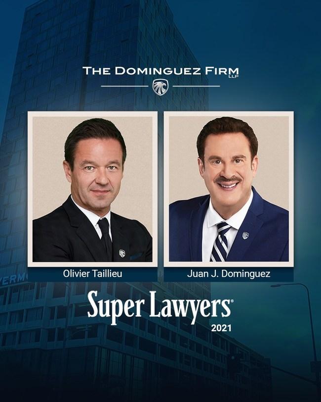 Attorneys Juan J. Dominguez and Olivier Taillieu