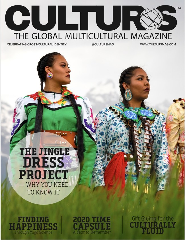 Ojibwe Jingle Dress Dance Culturs Magazine Cover