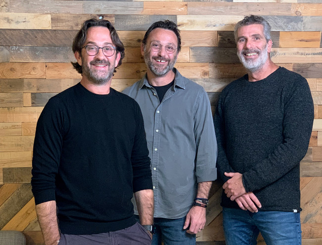 Optimax founders: Daniel Rothman (CEO), Eldad Rothman (COO), and Roy Yamner (CTO) (PRNewsfoto/GlassesUSA.com and Optimax Eyewear)