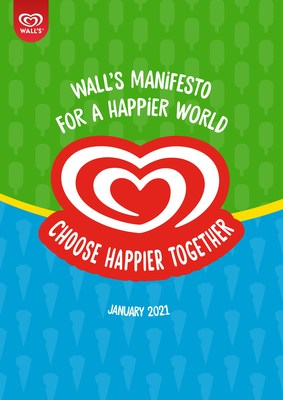Wall's Manifesto For A Happier World, launched in January 2021 calls for happiness to be prioritised.