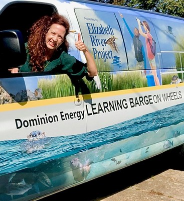 "The ""Learning Barge on Wheels"" will have retractable wind turbines and retractable solar panels and other sustainable practices."