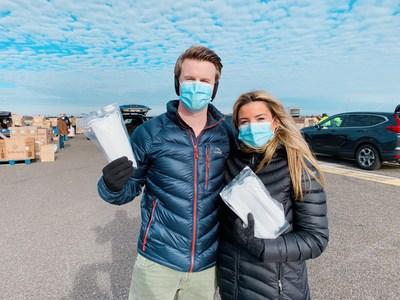 Barton and Kristina Henderson, Bader Field, Atlantic City, NJ