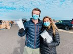 "NJ Couple Donates More Than 100,000 Masks to Frontline Workers and Families in Need Through Collaboration with Feeding America in ""Masking Up from Coast to Coast"" Campaign"
