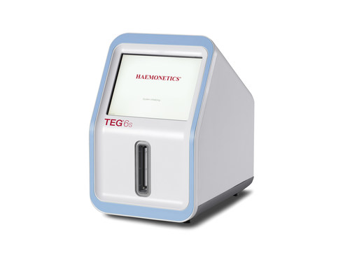 Haemonetics' TEG®  6s Hemostasis Analyzer, in combination with clinical information, provides rapid, comprehensive and accurate identification of an individual's hemostasis condition.