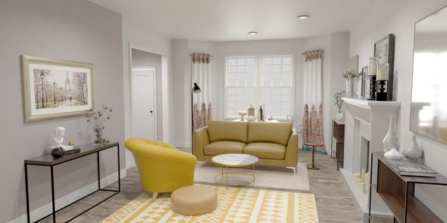 3D Room Render from Marxent 3D Cloud powered- 3D Room Planner for Web
