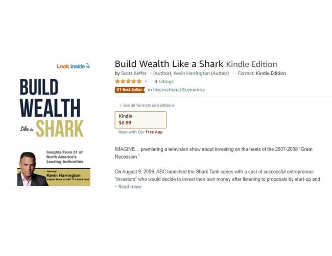 """""""Build Wealth Like a Shark"""""""
