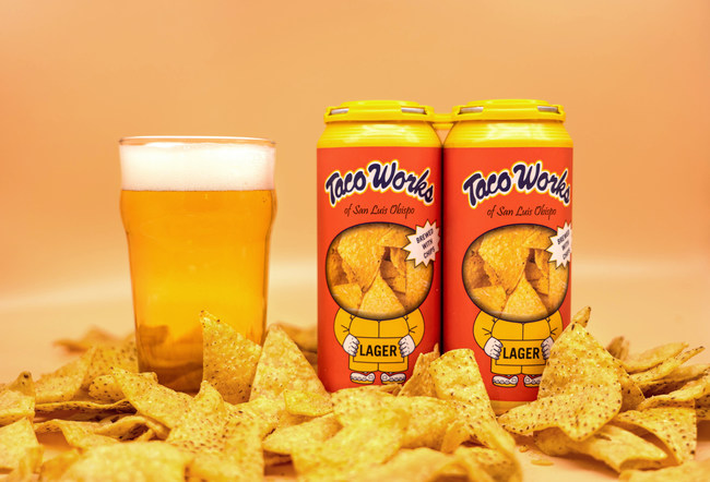 Tio Rodrigo Tortilla Chip Lager - Brewed with real Taco Works tortilla chips.