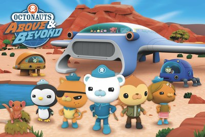 """Innovative toy company Moose Toys has secured toy rights to Silvergate Media's hit IP """"Octonauts."""" The range of toys will be based on the """"Octonauts"""" franchise and support the popular preschool animated TV property and upcoming release of its highly anticipated new spinoff show, Octonauts: Above & Beyond. When Moose Toys launches its brand-new Octonauts toy line in partnership with Silvergate Media, it will further expand and strengthen the toy company's growing presence in the preschool aisle."""