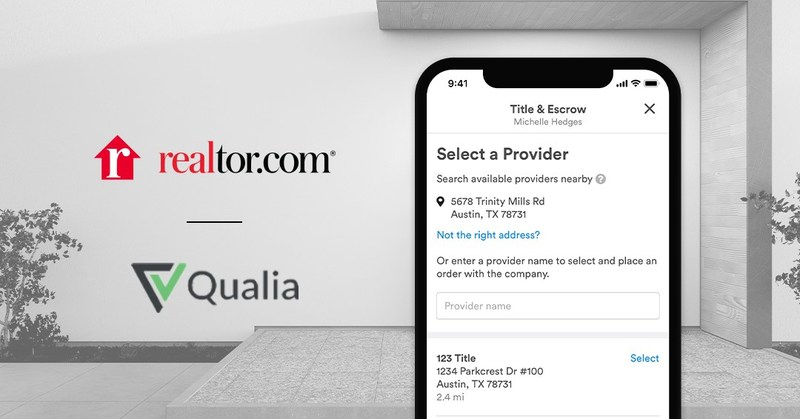 Realtor.com® and Qualia are joining forces to deliver simplified digital home closings to today's digital-first home buyers and sellers, and the agents and title providers who help them achieve their homeownership goals.