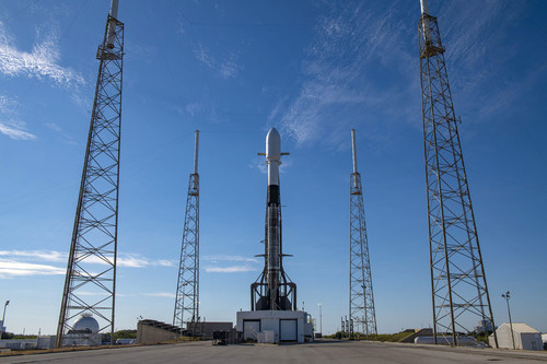 SpaceX Falcon 9 Space Force Station (CNW Group/GHGSat)