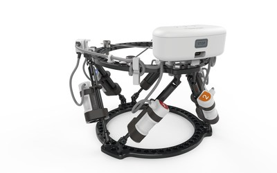 OrthoSpin's FDA-cleared Generation 2 robotic system enables automation of external fixation orthopedic treatments (credit: OrthoSpin).