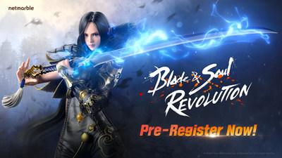 Open World Mobile RPG Blade & Soul Revolution abre pre-registro antes del lanzamiento mundial