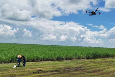 XAG Agricultural Drone conducted unmanned spraying operation in Zambia