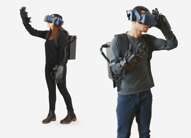 HaptX Gloves DK2 enables room-scale VR mobility and multi-user networking.