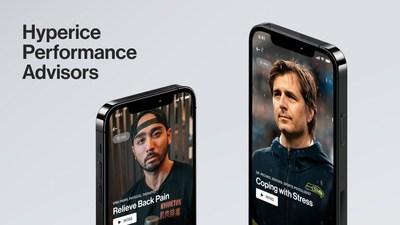 Hyperice Performance Advisors, in Hyperice app