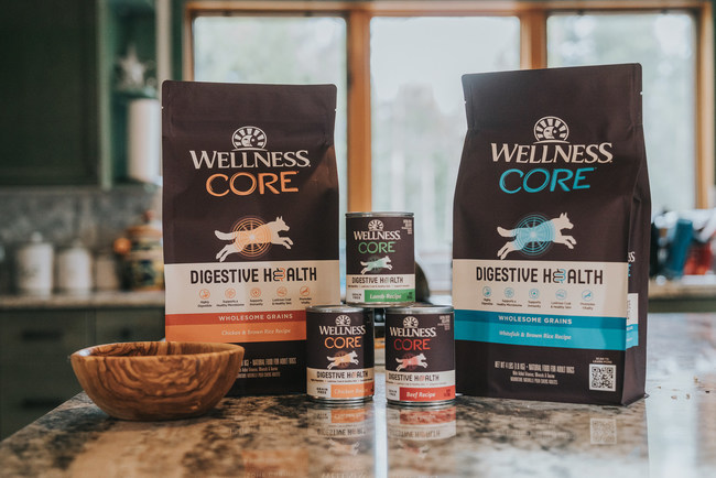 Wellness CORE® Digestive Health recipes are crafted with prebiotic fibers and probiotics to promote wellbeing from the inside out.
