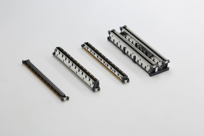 TE Connectivity's new free height computer-on-module (COM) connectors address vertical, parallel board-to-board connections that require high-speed data transmission and different stacking heights.