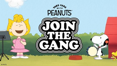 """Starting today, elementary school children and their teachers and parents/caregivers will be inspired to """"take care""""—of themselves, each other, and the planet—thanks to a new partnership between Peanuts Worldwide and GoNoodle. (CNW Group/Peanuts Worldwide)"""