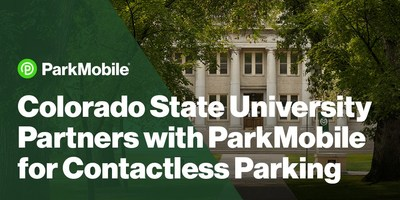 ParkMobile Partners with Colorado State University to Extend Contactless Parking Payment Options on Campus