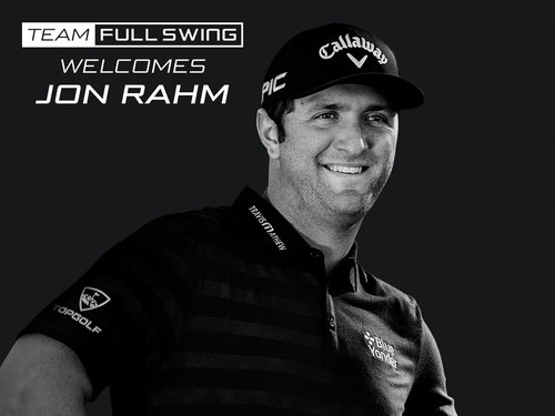 Jon Rahm, the #2 ranked golfer in the world, is installing a Full Swing Pro Series Simulator & Virtual Green in his home. To learn more about Full Swing, go to https://www.fullswinggolf.com/ (Photo Source: Callaway Golf)
