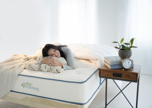 $250 off Organic Certified Mattresses that are Non-Toxic, Hypoallergenic  and Free of Harsh Chemicals from My Green Mattress