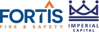 Fortis Fire & Safety and Imperial Capital Logo (CNW Group/Imperial Capital Group Ltd.)