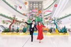 Doce animales de la suerte en Changsha IFS, de una artista francesa