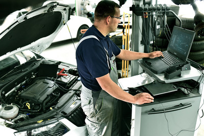 Getac S410 is ideal for automotive workshop diagnostics and R&D engineering