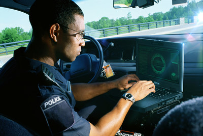 Getac S410 is perfect for patrols, day or night, in-vehicle or outdoors