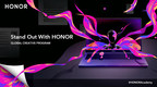 HONOR Announces #StandOutWithHONOR Global Winners and Partners with Affinity to Empower Productivity and Creativity