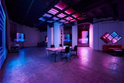 Salle d'exposition de Barcelone (PRNewsfoto/INFiLED)