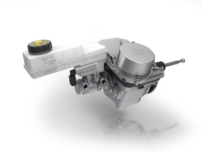ZF's latest brake control system optimizes the recovery of braking energy and can increase the range of electric vehicles. It will be installed in millions of cars based on Volkswagen Group's MEB platform, including the ID.3 and the ID.4 model range.