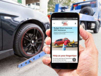 Budget Direct Insurance launches 24/7 emergency assistance web app, now available for motorists and travellers