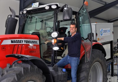 Dirk Vandenhirtz, founder and CEO of crop.zone GmbH Aachen Germany