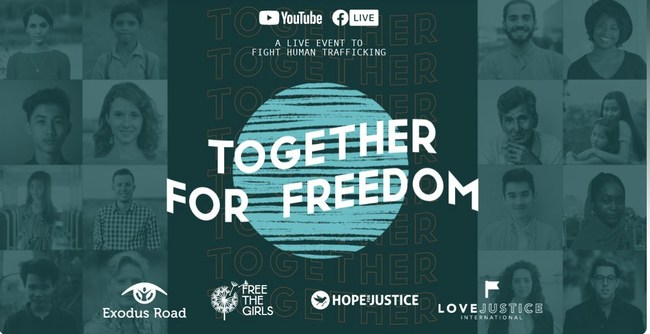 Together for Freedom Live Virtual Event