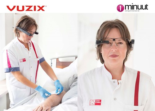 1Minuut Innovation Using M400 Smart Glasses To Support Healthcare and COVID-19 Needs